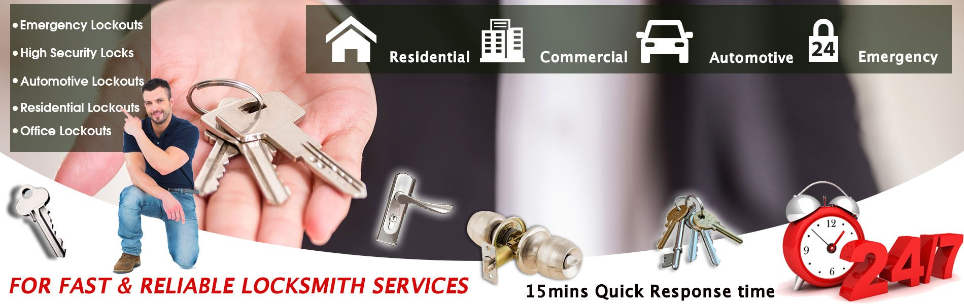 Village Locksmith Store South San Francisco, CA 650-946-3224